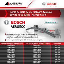 BOSCH ΥΑΛΟΚΑΘΑΡΙΣΤΗΡΑΣ AE65 AeroEco 3397015583