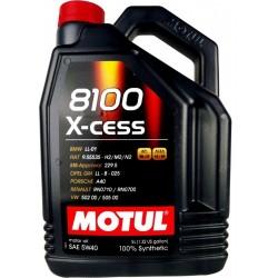 ΜΟTUL 8100 X-CESS 5W40 4X4L 81005W40XC-4L