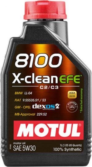 MOTUL 8100 X-CL EFE 5W30 12X1L 81005W30EFE-1L