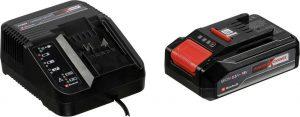 Einhell TE-CD 18/50 Li-i BL Κρουστικό Δραπανοκατσάβιδο Μπαταρίας 18V solo+Μπαταρία Power X-Change Li-Ion 18V/2.5Ah+Σετ Ταχυφορτιστής και Μπαταρία 18V/2.5 Αh  4513942.4511516.4512097