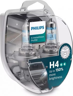 PHILIPS H4 150% X-TREMEVISION PRO150  12342XVPS2