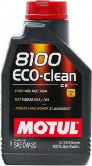 MOTUL 8100 ECO-CLEAN C2 0W-30 1LT (0W30) 81ECCL030-1L