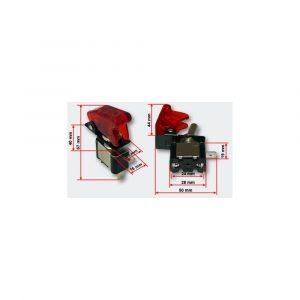 ΔΙΑΚΟΠΤΗΣ ΑΕΡΟΠΟΡΙΚΟΥ ΤΥΠΟΥ ME LED red E082078