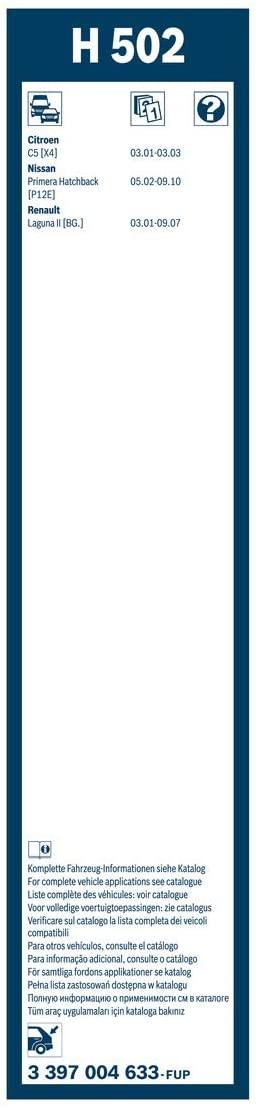 BOSCH ΥΑΛΟΚΑΘΑΡΙΣΤΗΡΑΣ (500) Rear 3397004633
