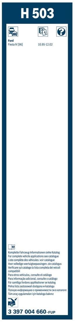 BOSCH ΥΑΛΟΚΑΘΑΡΙΣΤΗΡΑΣ (500) Rear 3397004660