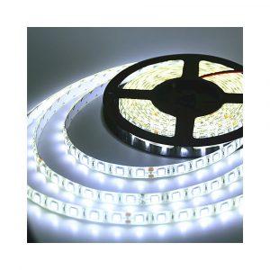 ΕΥΚΑΜΠΤΗ ΑΔΙΑΒΡΟΧΗ ΤΑΙΝΙΑ ΜΕ ΛΕΥΚΑ LED 12V 14,4W/m (ΤΙΜΗ ΜΕΤΡΟΥ) Ε082065