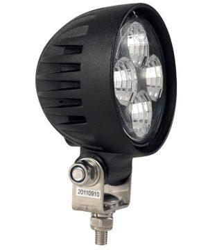 DASTERI ΦΑΝΑΡΙ 10-30V ΕΡΓΑΣΙΑΣ ΣΤΡΟΓΓΥΛΟ 4LED 600lumens (1670) RVL-LED-80