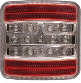 DASTERI ΦΑΝΟΣ ΟΠΙΣΘΙΟΣ LED 4 ΛΕΙΤΟΥΡΓΙΩΝ (STOP/ΠΟΡΕΙΑΣ/ΦΛΑΣ/ΑΝΤΑΝ/ΡΑΣ) (1340) DSL-4100