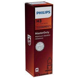 PHILIPS ΛΑΜΠΑ H3 24V 70W PK22s 13336MDB1