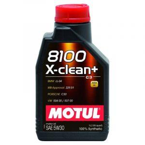 MOTUL 8100 X-CLEAN 5W30 12X1L  81005W30XCL-1L