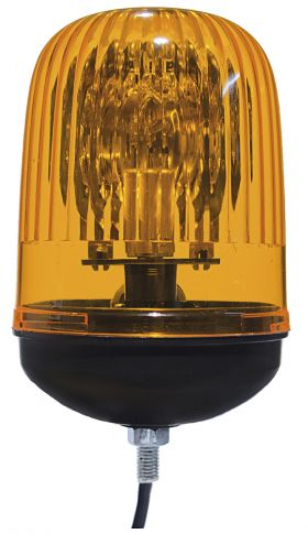 DASTERI ΦΑΡΟΣ ΠΕΡΙΣΤΡΟΦΙΚΟΣ 24V κίτρινος (1145) 432/24.05